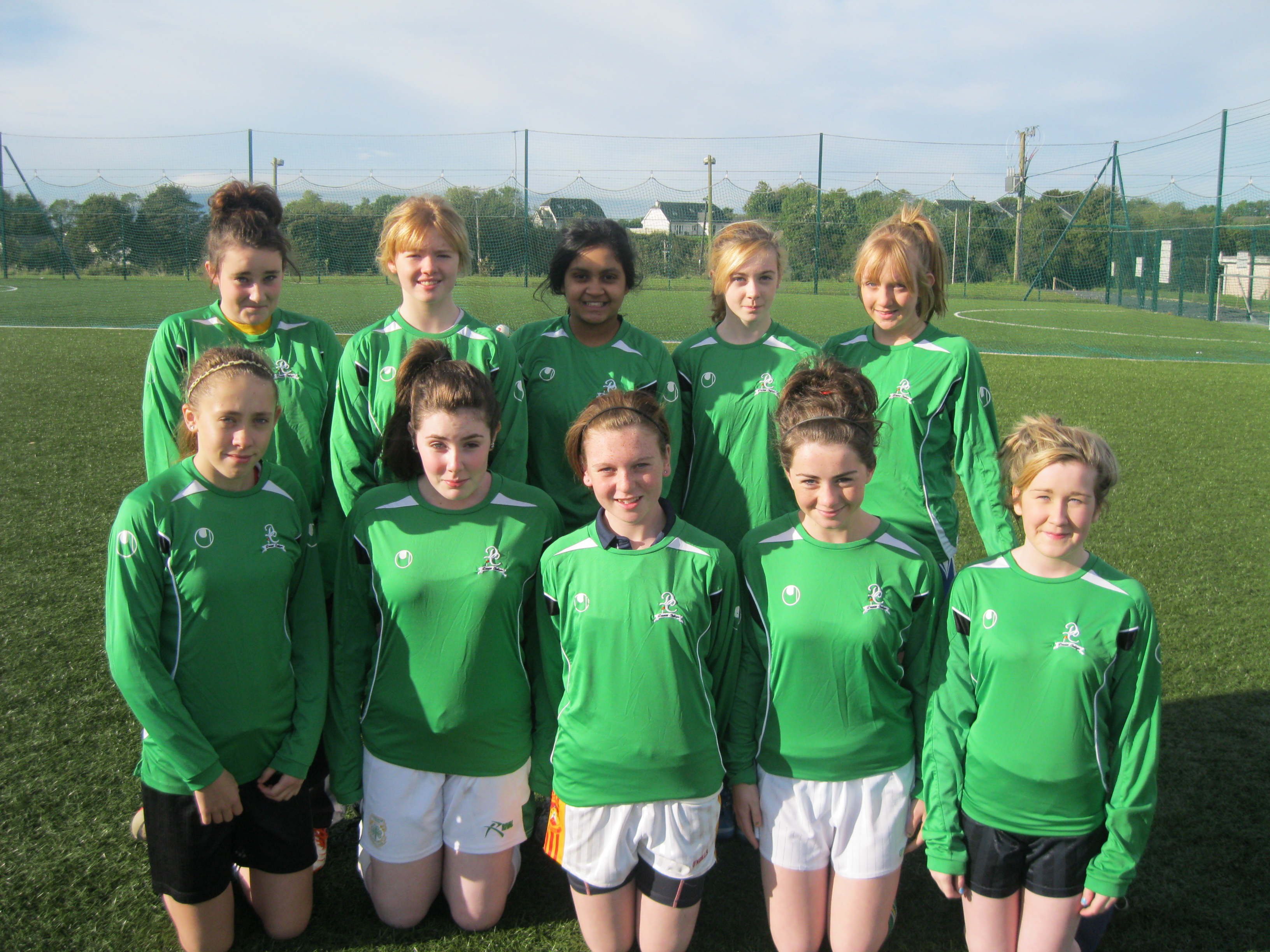 2nd Yr Girls 7-a-side Soccer Team