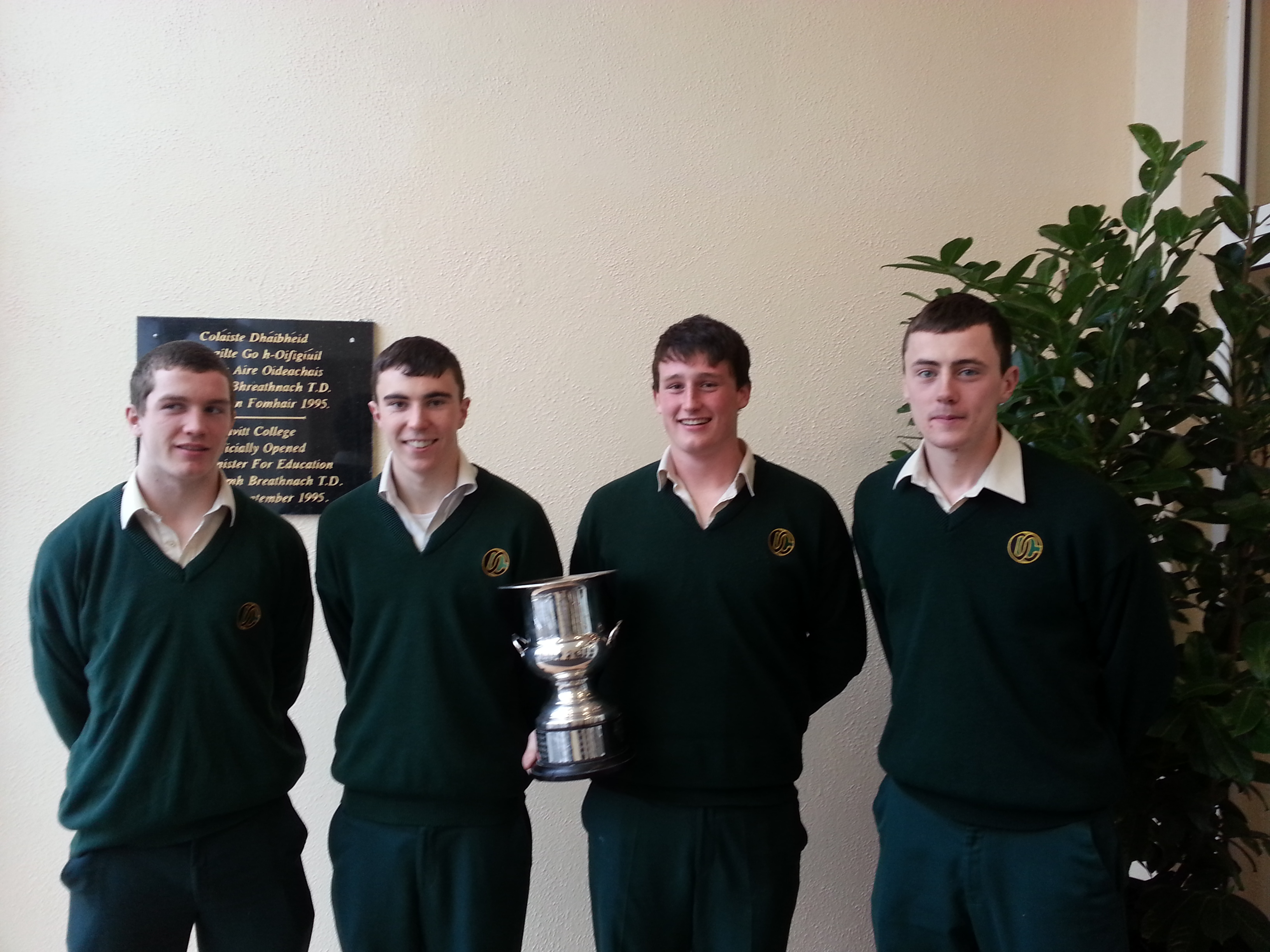 Senior Boys Gaelic Captains