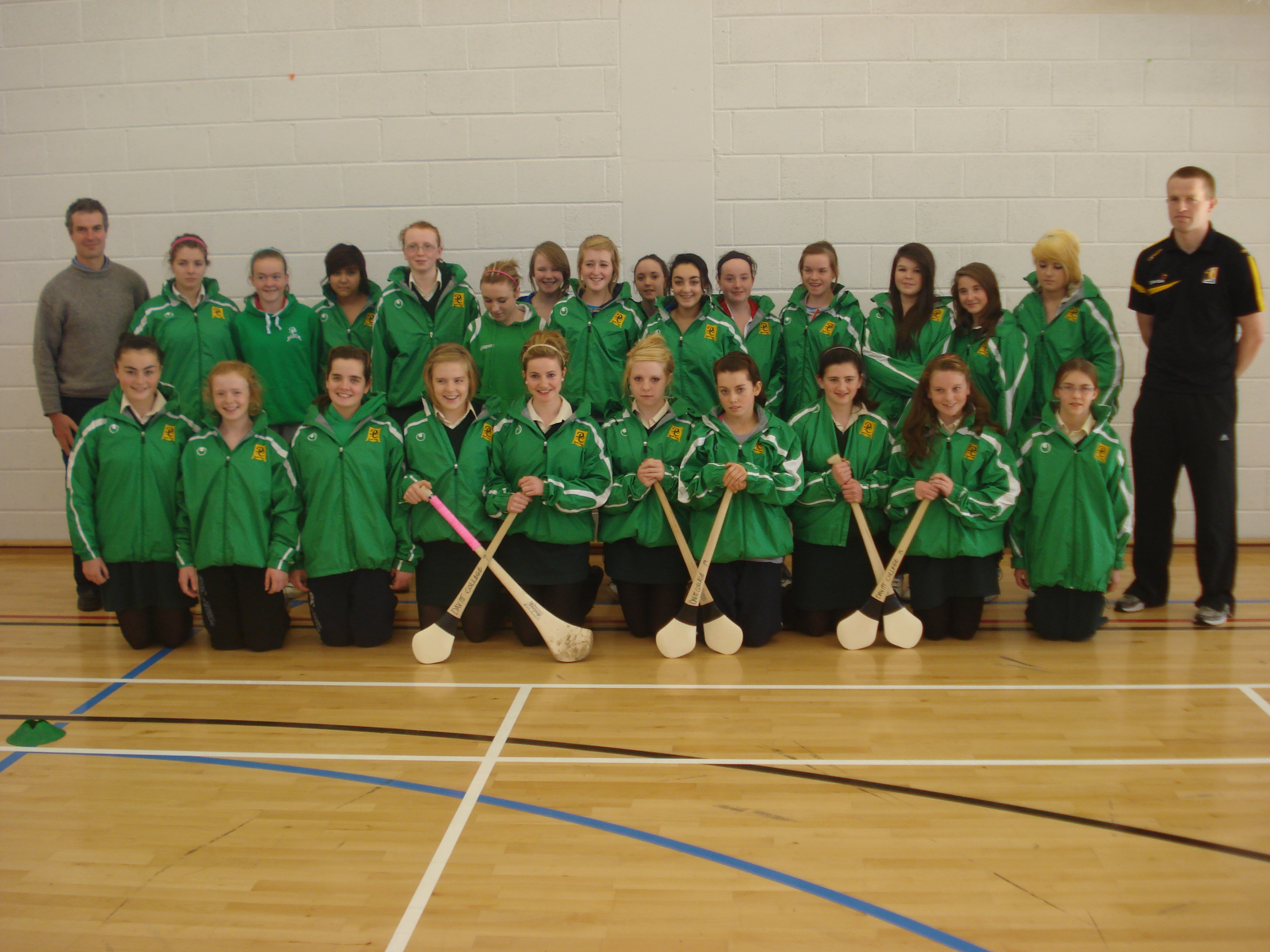 Girls Camogie Team